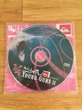 Quiksilver Young Guns II 2 DVD surf Surfing film Surfer KELLY SLATER New