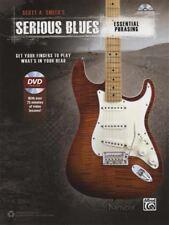 Serious Blues Essential Phrasing Guitar TAB Book/DVD
