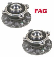 NEW BMW E39 525i 528i 530i Set of 2 Front Wheel Hubs with Bearing FAG OEM