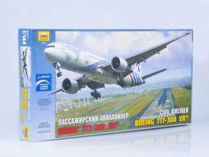 1/144 Passenger Airliner Boeing 777-300 ER (Zvezda)