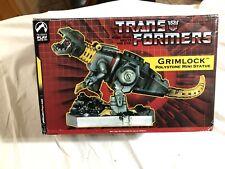 Palisades Transformers Grimlock Polystone Mini Statue