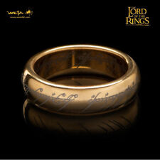 WETA The One Ring Lord Of The Rings Gollum Frodo with Runes Replica SZ 10 NEW