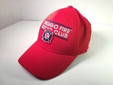 Chicago Fire SC Hat Cap MLS Adidas Official Team Pride Structured Flex Size S/M