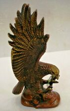 LARGE - Vintage Style EAGLE  statue - BRASS - RARE - Little & Very Nice (1599)