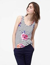 Striped Cotton Waist Length Vest Top, Strappy, Cami Women's Tops & Shirts