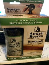 Amish Secret Handmade Wood Polish