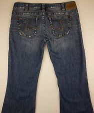 Silver Jeans Women's Size 31/33 Tuesday Distressed Frayed