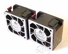 Server FAN 2x Delta Electronics AFC0612DE 60mm System Fan from HP DL380 G5