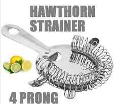 Hawthorn Strainer Cocktail Shaker Maker Mixer Stainless Steel