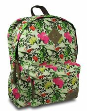 NEW DICKIES CLASSIC CANVAS BACKPACK / BOOK BAG AUTHENTIC -TROPICAL LEOPARD - $60