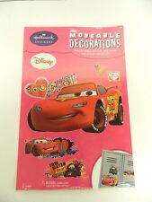 HALLMARK STICKERS DISNEY CARS MOVEABLE DECORATIONS -- REMOVE AND REUSE