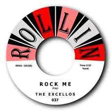 "THE EXCELLOS - ""SPOONFUL"" b/w ""ROCK ME"" - HOT ROCKABILLY BLUES 45 - LISTEN !"