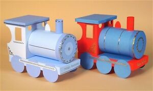 A4 Card Making Templates - 3D Opening Gift Train & Display Box by Card Carousel