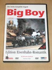 RARE DVD DOC TRAIN EN ALLEMAND / DER LETZTE DAMPFLOK GIGANT / BIG BOY COUNTRY
