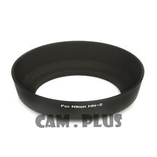 HN-2 HN2 Bayonet Mount Lens Hood For NIkon 28mm f/2.8 24-70mm f/3.5-5.6 Black