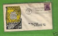 #837, NW Ordinance of 1787 FDC cover