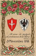 WW1 Propaganda, Trento e Trieste Terre Redente - Viaggiata 1919 - TT030
