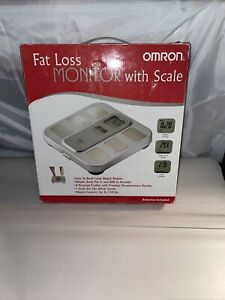 Brand New Omron Fat Loss Moniter With Scale HBF-400
