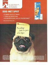 Publicité Advertising 037  2006  Clément Thékan    produits vétérinaires Dog-Net