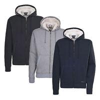 Trespass Feldberg Mens Full Zip Warm Fleece Hoodie Jacket