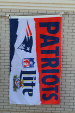 Lite Miller New England Patriots Beer flag Banner 3X5Feet 02