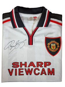 Ryan Giggs 1999 (Away) Manchester United Signed Shirt