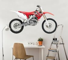 3D Motorcycle Metal G051 Car Wallpaper Mural Poster Transport Wall Stickers Wend