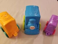 2013 Fisher Price Stackable Nesting infant Replacement Toy Train FREE SHIPPING