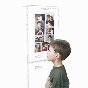 """Picture Pockets Magnetic For 11 Photos Hanging Gallery Frame Display 6x4"""" Fridge"""