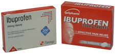 96 Ibuprofen Tablets(as Nurofen) Pain Relief Migraine Rheumatic & Muscular 200mg