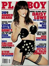 Sept 2011  issue of Playboy  with Daisy Lowe U.K. Model