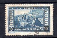 Monaco 1933 10f blue SG141 Cat Val £110 WS10844