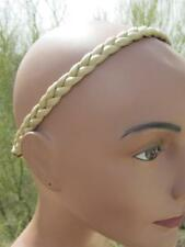 golden braid HAIR BAND not used no tags BLOND blonde blondie faux fake bandeau