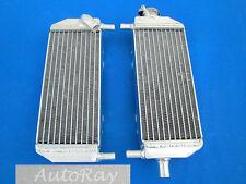 Aluminum Radiator Set for Suzuki RM250 RM 250 01-08 2 Stroke 03 04 05 06 07 2008