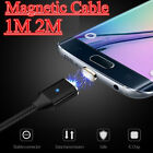 1M 2M Magnetic Micro USB Adapter Charge Sync Data Cable Cord For Sumsung HTC LG