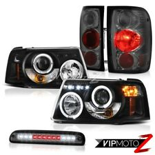 Projector Headlights Smoke Red Tail Lights Third Brake LED 2001-2011 Ford Ranger