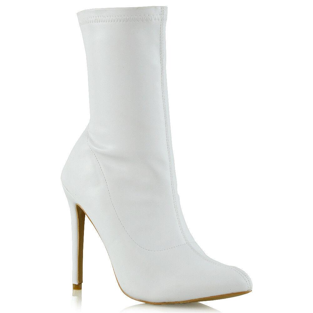 Botas de mujer de color principal blanco Talla 36  Regalos Regalos  de 501ad2