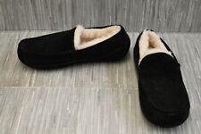 Ugg Ascot 1101110 Moccasin Slippers - Men's Size 8, Black