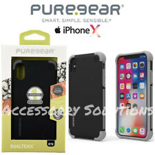 PureGear Apple iPhone X Dualtek Extreme Impact Rugged Case Cover Black, 62066PG