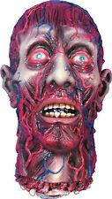 HALLOWEEN SKINNED BLOODY HEAD CEMETARY GRAVEYARD DECORATION PROP