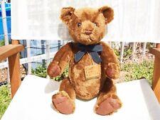 """GUND- MOHAIR WILLIAM BEARKIN TEDDY BEAR- #9656- 16 1/2""""-1996-VERY NICE- ALL TAGS"""