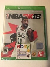 NBA 2K18 2018 XBOX ONE 1 Brand New Factory Sealed Fast Shipping