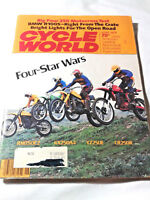 Vintage Cycle World Magazine June 1978  Four - Star Wars