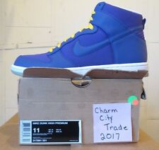 Men's Nike Dunk High Premium 317891-551 Size 11