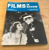 Films In Review Vintage Cinema Movie Film Magazine Aug-Sept 1979 Frances Farmer