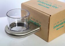 Wall Mount Tumbler Holder Hansgrohe Brushed Nickel Water Glass G06589820