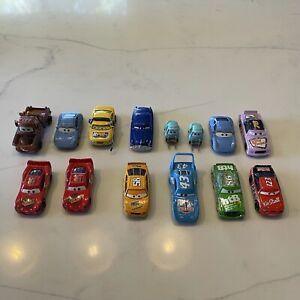 Lot of Disney Pixar Cars Diecast McQueen Mater Etc…