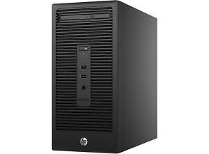 HP 280 G2 MT PC i3 6100 3.7GHz 8GB RAM 256GB SSD WiFi Win 10