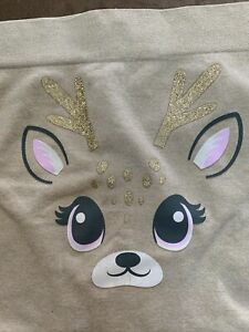 JUSTICE UNDERWEAR SIZE 20/22 PLUS OH SO SOFT REINDEER SHIMMERING SUPER CUTE!!