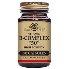 Solgar Vit B-complex 50 50 Cápsulas